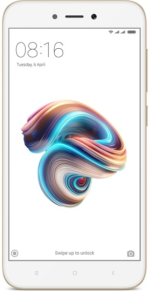 Xiaomi Redmi 5A DualSIM gsm tel. Gold 2+16GB, Global