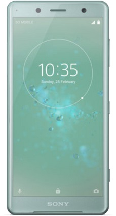 Sony H8324 Xperia XZ2 Compact Dual gsm tel. Moss Green
